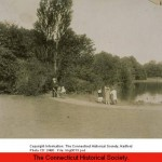 Children_beside_the_pond_Keney_Park_Hartford